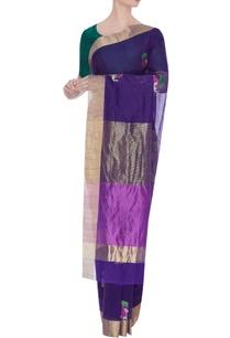 pure-chanderi-sari-with-zari-elephant-silk-palla