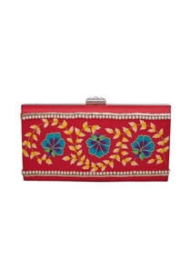 floral-hand-painted-and-embroidered-box-clutch
