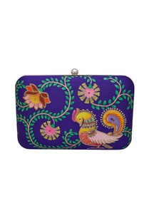 silk-hand-painted-embroidered-box-clutch