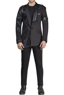mesh-with-leather-detailed-athlesiure-assymetrical-jacket-and-pant