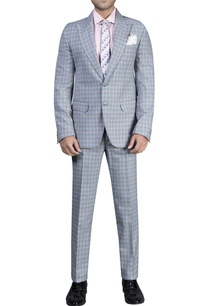 checkered-tuxedo-set