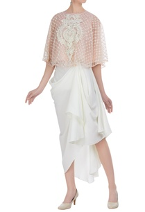 resham-embroidered-tunic-with-dhoti-skirt