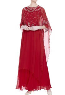 flower-embroidered-cape-with-sharara-pants