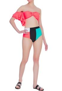 bandeau-top-with-color-block-bikini-bottom