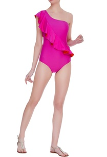 ruffled-one-shoulder-monokini