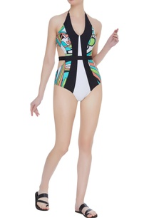 color-block-swimsuit-with-belt
