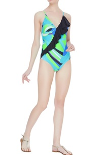 printed-cross-strap-back-swimsuit