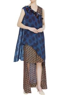 wrap-style-layered-maxi-dress