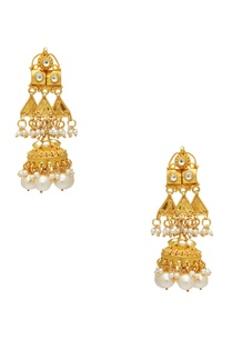 pearl-beaded-necklace-with-matching-jhumkis
