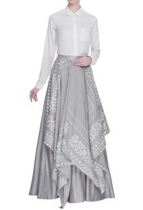 chanderi-layered-maxi-skirt