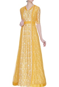 net-european-inspired-cape-with-floral-printed-anarkali
