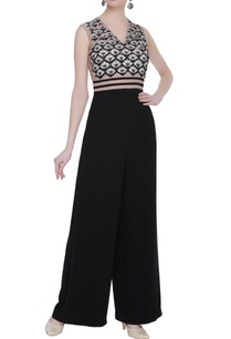 net-crepe-silk-gota-embroidered-jumpsuit