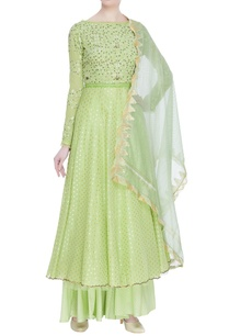 chikankari-hand-embroidered-flared-kurta-set