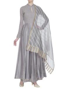 chanderi-sequin-hand-embroidered-kurta-set
