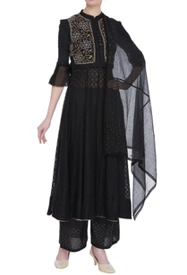 chikankari-embroidered-waistcoat-with-anarkali-dupatta-pants