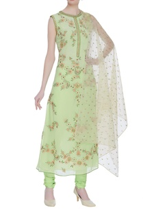 embroidered-straight-fit-kurta-with-churidar-dupatta