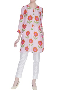 rose-printed-kurta