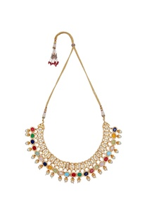multi-faceted-semi-precious-stones-necklace