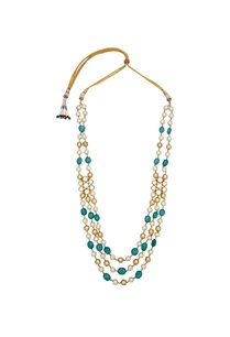 pearl-turquoise-stone-embellished-tiered-necklace