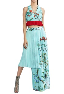 asymmetric-skirt-with-pleats-on-one-side
