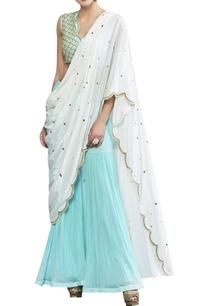 draped-hand-embroidered-kurta-set