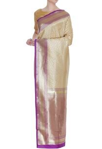 banarasi-silk-zari-sari-with-unstitched-blouse