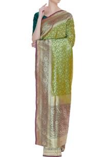 banarasi-woven-silk-sari-with-unstitched-blouse