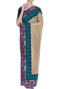 tussar-banarasi-sari-with-unstitched-blouse