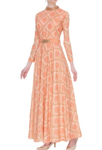 floral-printed-bead-embroidered-long-anarkali