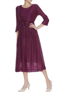 angrakha-handspun-chanderi-dress-with-inner