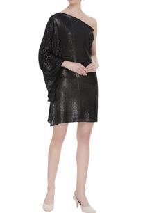 one-shoulder-sequin-dress