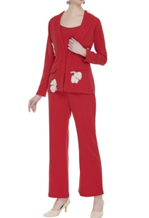 tailored-power-suit-in-floral-applique