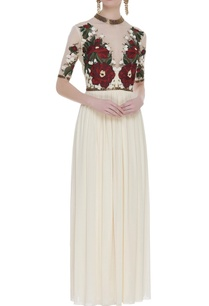 floral-motif-gown-with-sheer-neckline