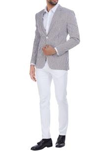 stripe-pattern-cotton-seersucker-double-breasted-jacket