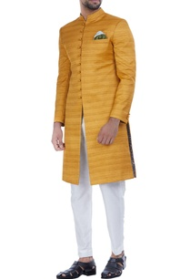 textured-silk-achkan-jacket-with-churidar
