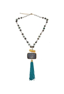 onyx-tassel-beaded-long-necklace