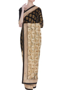 net-banarasi-sari-with-unstitched-blouse