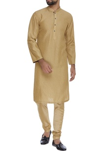 textured-kurta-churidar
