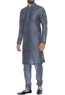 gota-work-pintuck-kurta-churidar