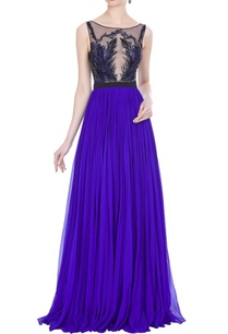 pleated-gown-with-hand-embroideredbodice