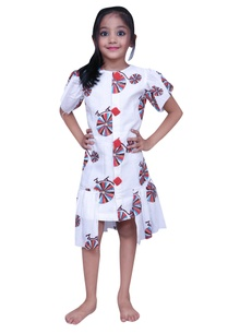 printed-dress-with-frill-sleeves