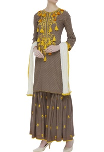 tassel-embroidered-kurta-sharara-set
