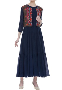 cotton-floral-embroidered-jacket-with-maxi-tunic