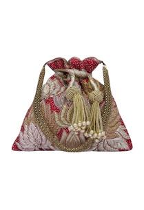 precious-petals-maroon-embroidered-potli