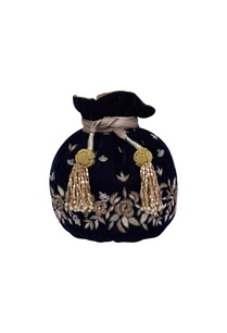 navy-blue-embroidered-potli-bag