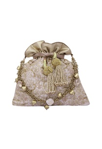 floral-haze-eclectic-white-potli-with-gold-dori-work