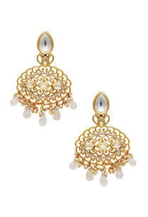 carved-kundan-earrings