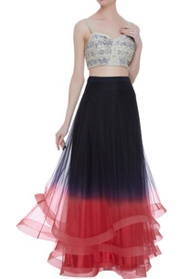 layered-lehenga-embroidered-blouse