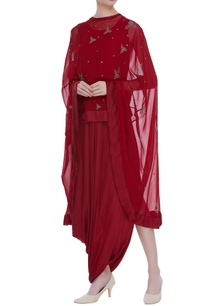 embroidered-high-low-cape-tunic