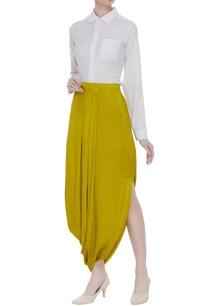 side-drape-skirt